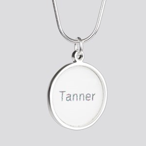 Tanner Paperclips Silver Round Necklace
