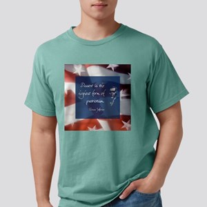 dissentlarge square Mens Comfort Colors Shirt