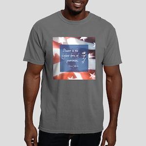 dissentlargelight Mens Comfort Colors Shirt