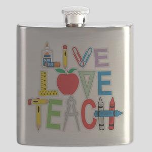 Live-Love-Teach Flask