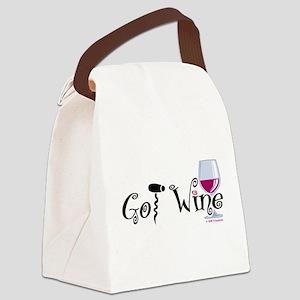 Got-Wine Canvas Lunch Bag