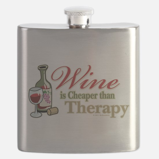 Wine-Cheaper-Than-Therapy.png Flask
