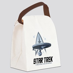 Star-Trek-Saying Canvas Lunch Bag
