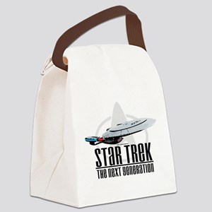 Star-Trek-TNG Canvas Lunch Bag