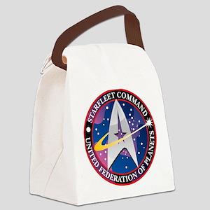 Starfleet-Command Canvas Lunch Bag