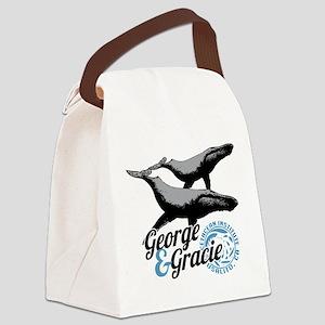 Cetacean-Institute-GandG Canvas Lunch Bag