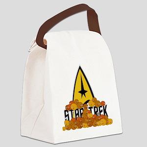 Star-Trek-Tribbles Canvas Lunch Bag