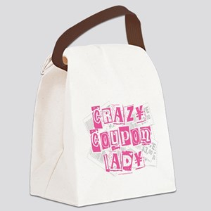 Crazy-Coupon-Lady Canvas Lunch Bag