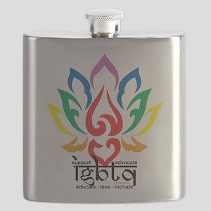 LGBTQ-Lotus-Flower Flask