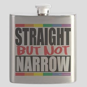 Straingt-But-Not-Narrow Flask