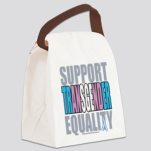 Support-Transgender-Equality Canvas Lunch Bag