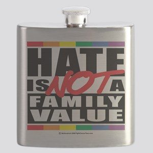 Hate-Family-Value Flask