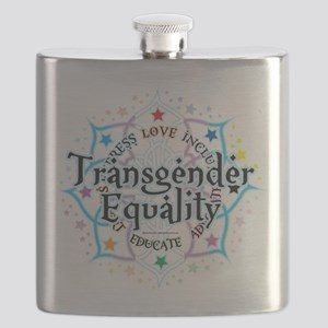 Transgender-Equality-Lotus Flask
