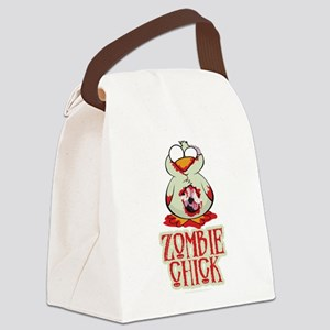 Zombie-Chick Canvas Lunch Bag