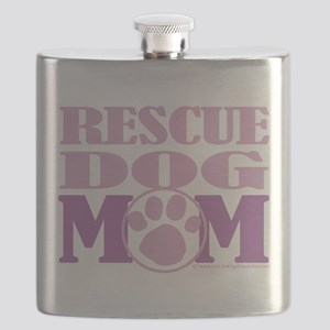 Rescue-Dog-Mom Flask