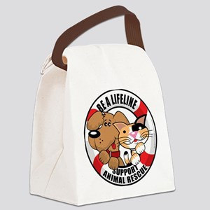 Life-Perserver-2010 Canvas Lunch Bag