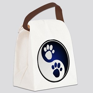 Paw Ying Yang Canvas Lunch Bag
