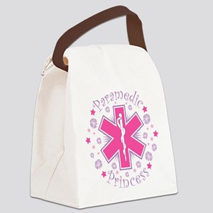Paramedic Princess Canvas Lunch Bag