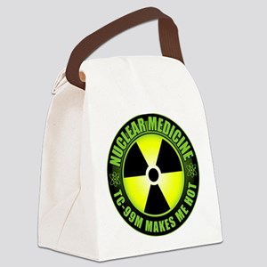 nuc meda2PNG wht Canvas Lunch Bag