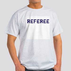 Referee (Front & Back) T Shirts & Apparel Ash Gre