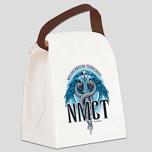 NMCT-Caduceus-Blue Canvas Lunch Bag