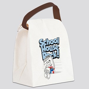 School-House-Rocks-Bill Canvas Lunch Bag