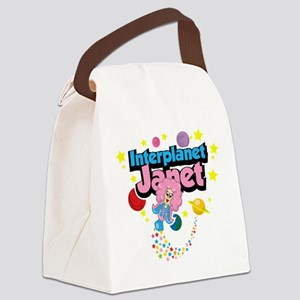 Interplanet-Janet Canvas Lunch Bag