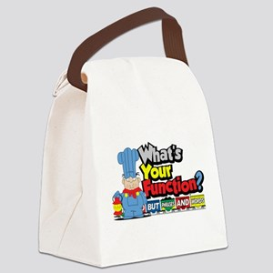 Conjunction-Junction Canvas Lunch Bag