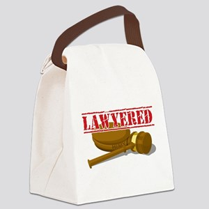 Lawyered Canvas Lunch Bag