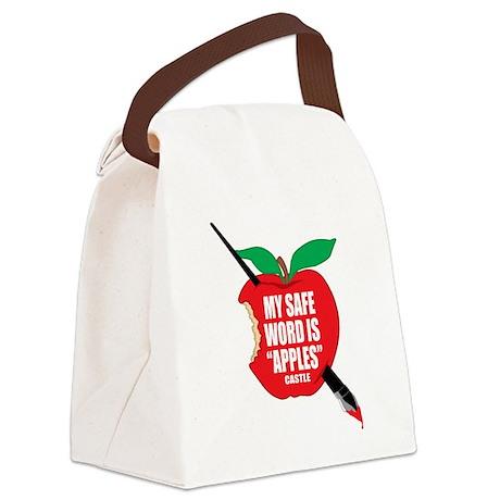 Castle-Apples Canvas Lunch Bag