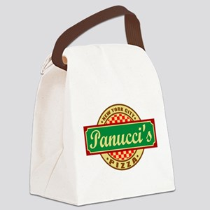 Panuccis Pizza2 Canvas Lunch Bag