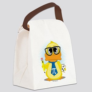 Math-Duck Canvas Lunch Bag