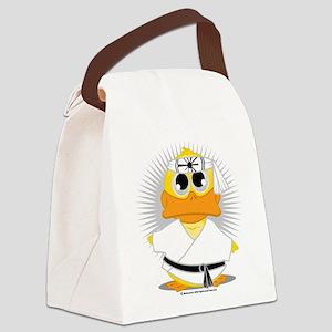 Karate-Duck Canvas Lunch Bag