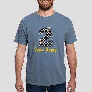 2nd Birthday Bumble Bee Mens Comfort Colors Shirt