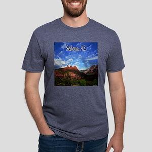 Sedona, AZ Mens Tri-blend T-Shirt