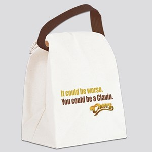 Could Be A Clavin Canvas Lunch Bag