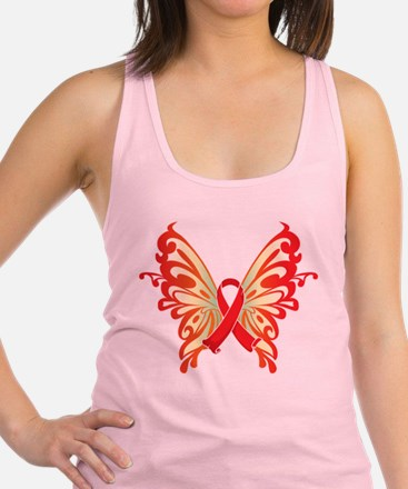 Red-Butterfly-2009.png Racerback Tank Top