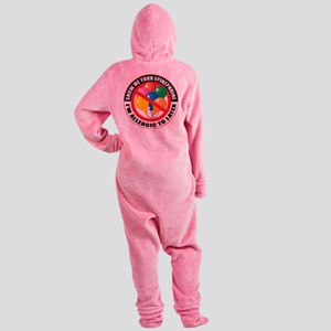Latex Allergy Footed Pajamas