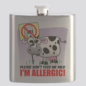 Milk Allergy Cow Flask