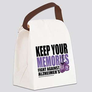 Fight-Alzheimers-2009 Canvas Lunch Bag