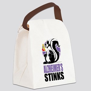 Alzheimers-Stinks Canvas Lunch Bag