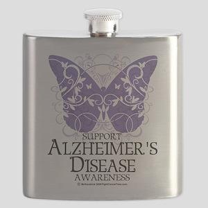Alzheimers-Butterfly Flask
