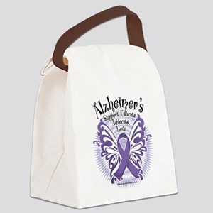 Alzheimers-Butterfly-3 Canvas Lunch Bag