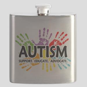 Handprint Flask