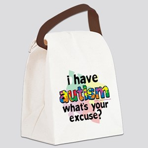 I-Have-Autism Canvas Lunch Bag