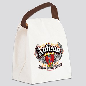 Autism-Wings Canvas Lunch Bag