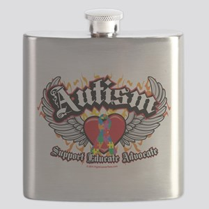 Autism-Wings Flask