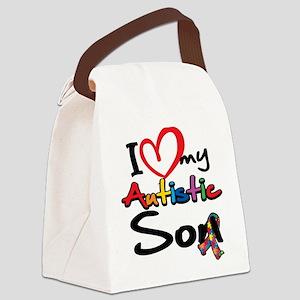 ILoveMy-Autistic-Son-2008 Canvas Lunch Bag