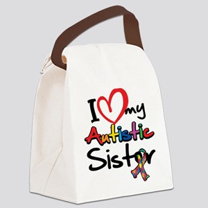 ILoveMy-Autistic-Sister-2008 Canvas Lunch Bag