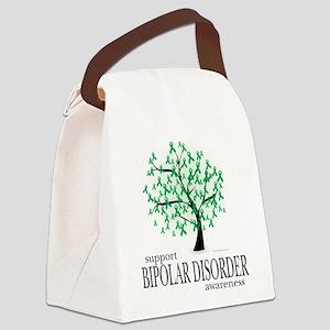 Bipolar-Disorder-Tree Canvas Lunch Bag